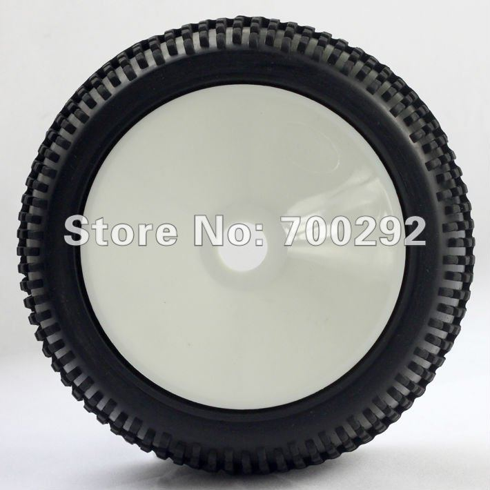 New arrival 1/8 off road rc car truck used tire+wheel+Free Shipping(China (Mainland))