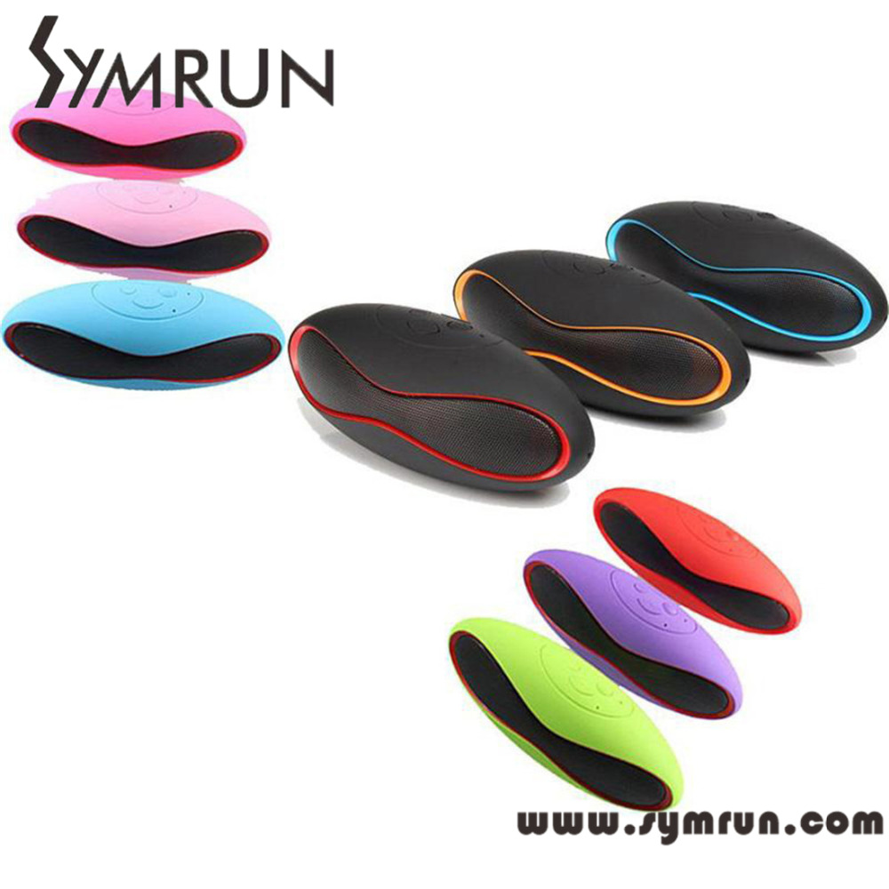 Symrun Free Shipping Bluetooth Speaker For Phone Notebook Tablet X6 Wireless Portable Audio Player fm speaker(China (Mainland))