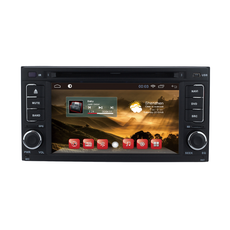 Android 4.4 Car DVD Stereo For Subaru Forester Impreza 2008 2009 2010 2011 2012 Auto Radio RDS GPS Glonass Navigation Player(Hong Kong)