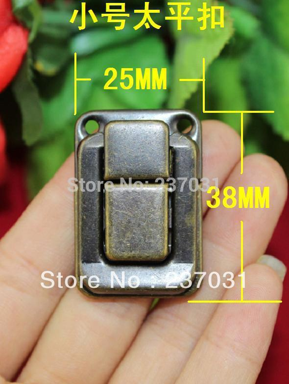 Archaize button box/tin buckles/wooden case/bronze clasp/taiping button box small size 25 * 38 mm wine box<br><br>Aliexpress
