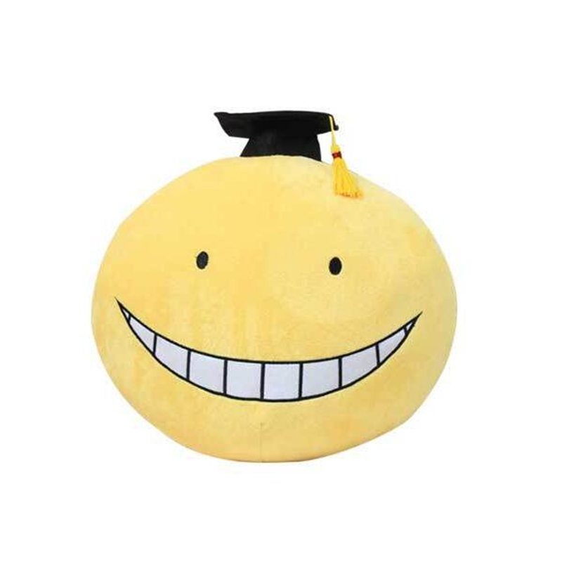 2016 Anime Dakimakura Plush Toy 2Types Assassination Classroom Koro Sensei Hugging Body Back Pillow Cute Cartoon Pillows Dolls