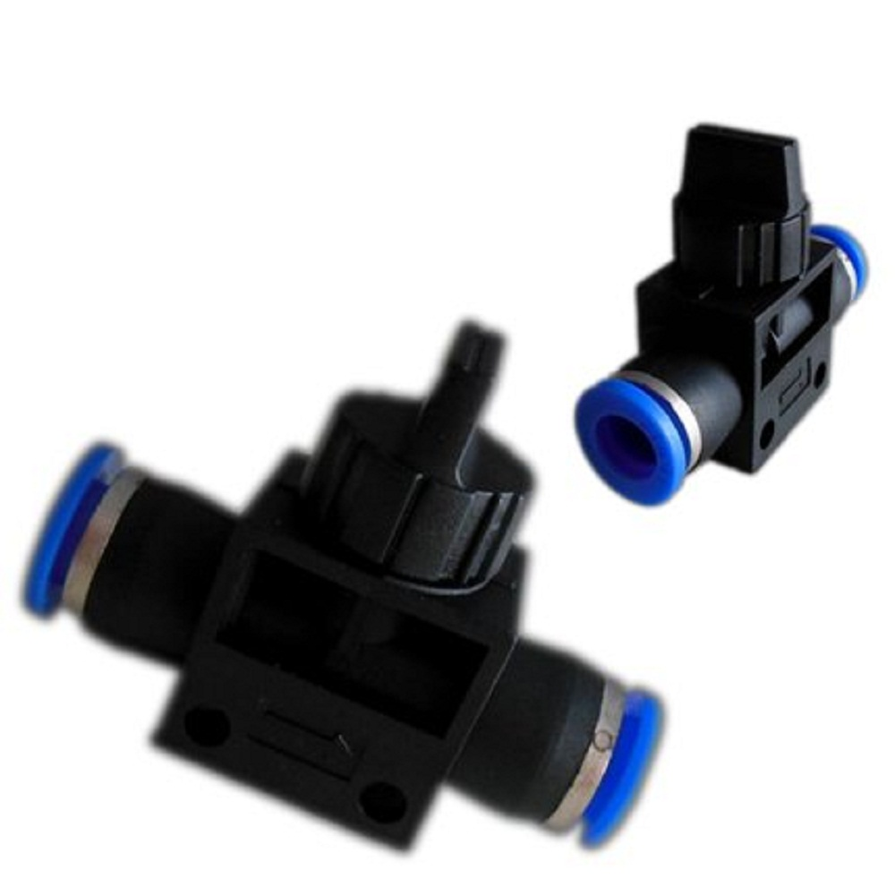 4/6/8/10/12mm HVFF aquarium fish tank co2 hand throttle Flow Control valve pneumatic component trachea air tube rapid pipe joint(China (Mainland))