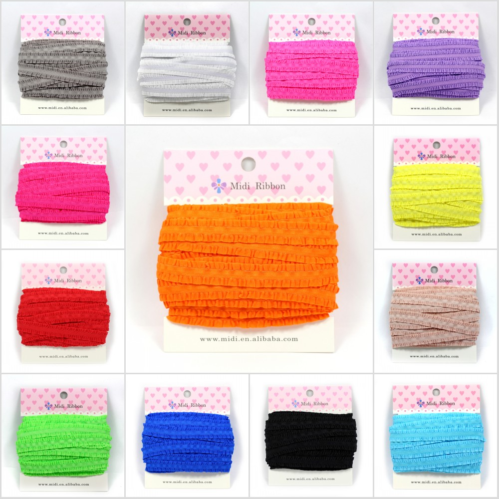 "10 Yards Arrival Lingerie Straps DIY Ribbon 1/2"" 13mm Fungus Elastic Ribbon 14 Colors in stock(China (Mainland))"