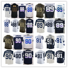 2016 Michael Irvin,Gavin Escobar,DeMarcus Lawrence,Ladouceur men women youth Jersey thanksgiving Blue White stitched ELITE M-4XL(China (Mainland))