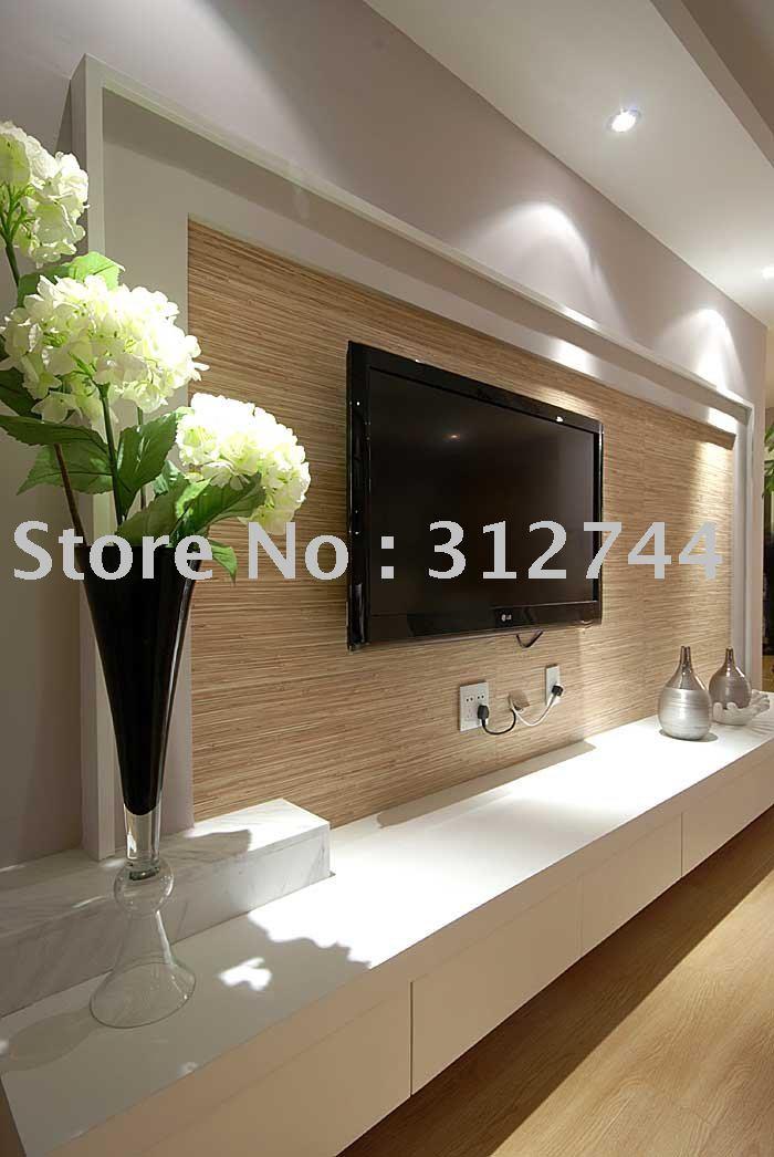 Buy grass wallpaper nature fibric for Wallpaper decor for sale