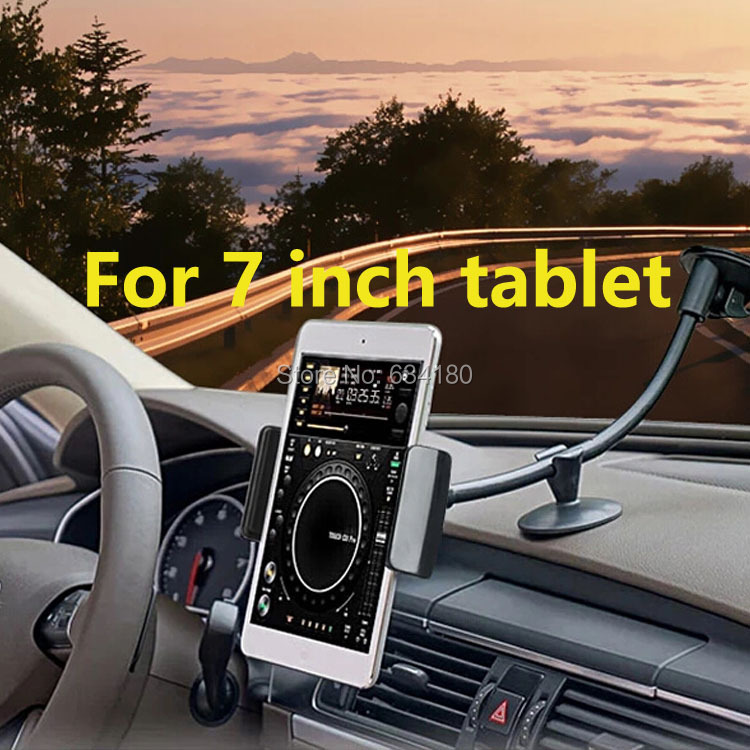 360 degree rotating Bracket navigation stents universal Car Mount holder for 7 to 8 inch <font><b>tablet</b></font> ipad mini 3 <font><b>samsung</b></font> asus acer