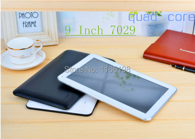 With a gift Android 4.4 tablet 9 inch+Quad core+dual camera+512MB/8GB+3500mAh+Wifi +bluetooth+HDMI+G-Sensor ATM7029B tablet pc(China (Mainland))