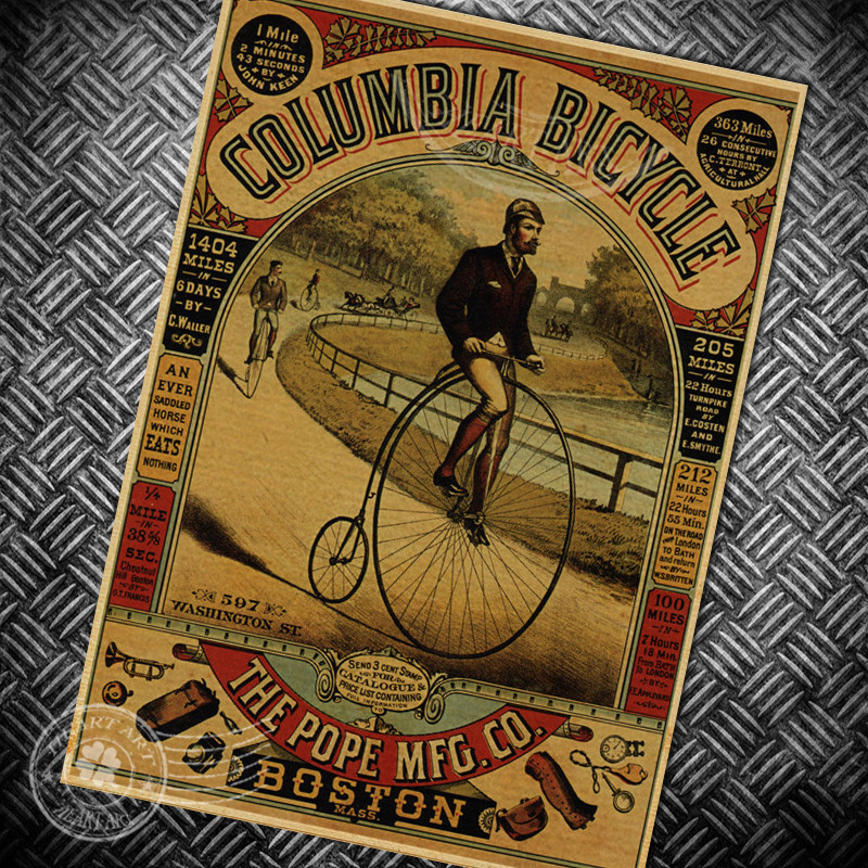 Popular Vintage Bike Stickers Buy Cheap Vintage Bike