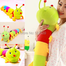 New Hot 50 cm Popular Colorful Inchworm Soft Lovely Developmental Toys for Caterpillar hold pillow Toys(China (Mainland))