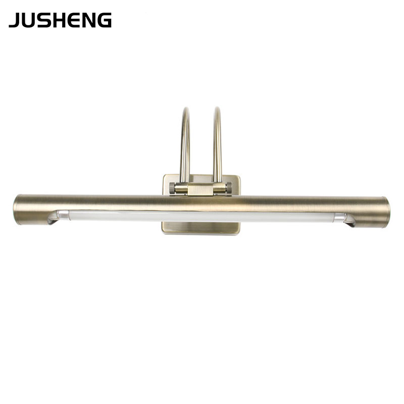 ECOBRT-5640 item Traditional Bathroom Mirror lighting Wall Lamps using T5 Tubes 8W 10W 12W Silvery&amp;Bronze color Free Shipping<br><br>Aliexpress