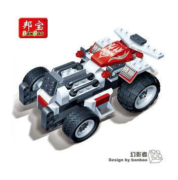 Детское лего Banbao 8606 102 DIY детское лего tank iv f2 1193pcs lego