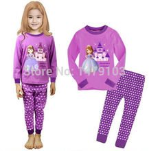 Sofia Princess Baby Kids Girls Toddler Nightwear Pajamas Sleepwear Set 1-8Y Xmas