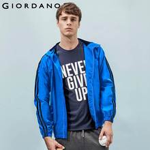 Giordano Men Jacket Brand Water Repellent Windbreaker Sport and Coat For Men Hooded Chaquetas Abrigos Hombre Veste Homme(China (Mainland))