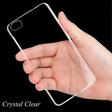 Luxury Crystal Silicon Gel Soft Back Case Cover For Iphone 5C 0.3mm Super Thin & Light Jelly Cell Phone Protective Shell Smooth