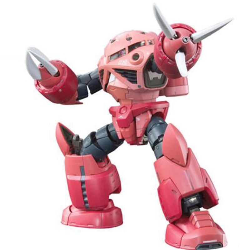 Starz BANDAI RG 1/144 MSM-07S Z'GOK GUNDAM 0079 Model Anime Building Kits Figures Colletion Robot Toys Char Aznable