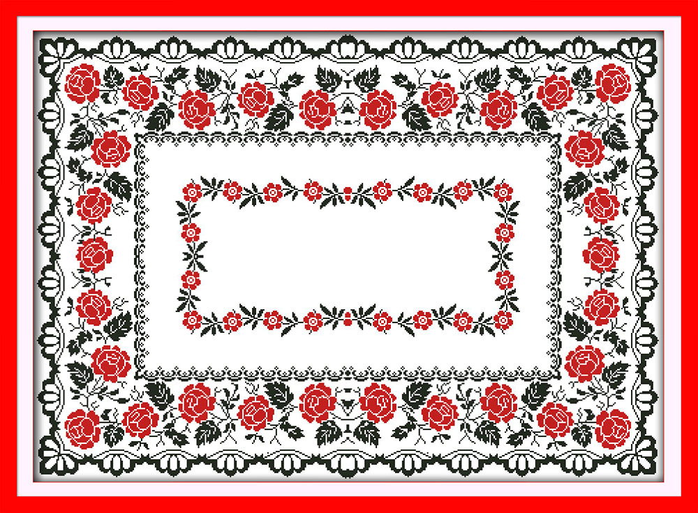 Embroidery tablecloth kits reviews online shopping