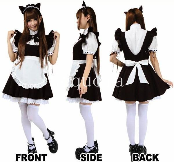 Neko Maid Costume Outfit Maid Dress For Neko