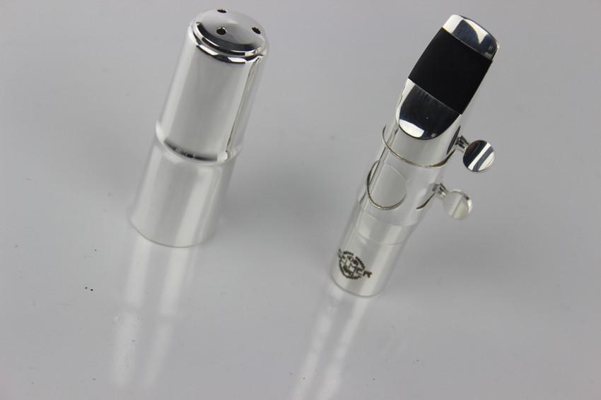 The the wholesale Metal jazz alto saxophone mouthpiece silver Size5 of-9
