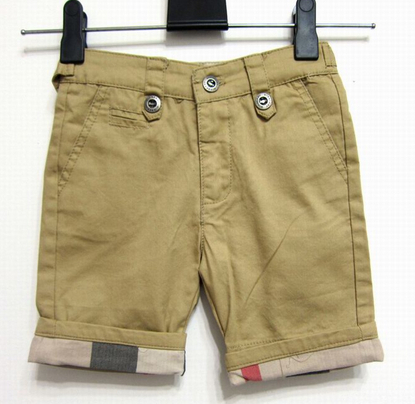 Hot Sale Fashion Kids Cotton Brit Shorts Summer Children Solid Casual Shorts Baby Classic Swim Trunks Little Boys Outwear S-XXL(China (Mainland))