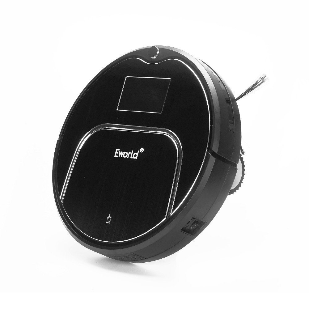 Eworld Robot Vacuum Cleaner M883 For Home House Floor MOP Cordless Vacuum robot sweeper with Auto recharging Remote controller(China (Mainland))