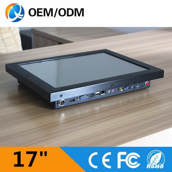 QYT 17 inch industrial PC mini computer all in one pc with good quality(China (Mainland))