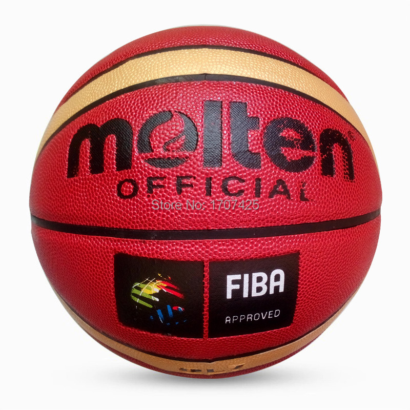 Wholesale or retail NEW Brand Cheap Molten GL7 Basketball Ball PU Materia Official Size7 Basketball Free With Net Bag+ Needle(China (Mainland))