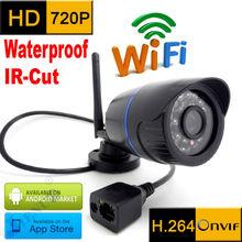 ip camera 720p wifi HD wateproof outdoor weatherproof cctv security system infrared video surveillance mini wireless home cam