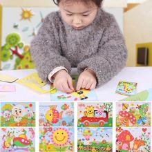 Hot Sale 3D Sticker Drawing Picture Self-adhesive Kids Crafts Decoration Children DIY Toy Gift(China (Mainland))