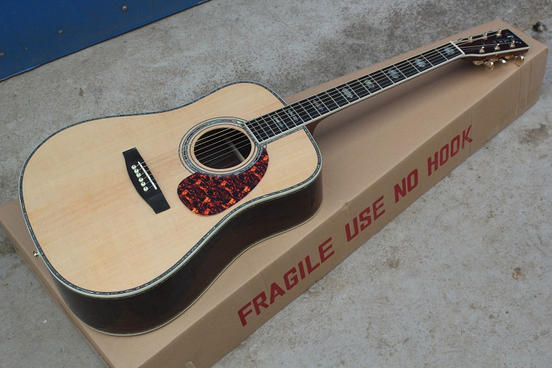 Factory Custom Top quality Mart D45s classical Acoustic Guitar,2016 New Arrival ,AAA solid Spruce top,Free Shipping<br><br>Aliexpress