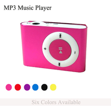 Brand New Mini Clip MP3 Music Player with TF/SD Card Slot + Earphone + Power Cable Lightweight and Portable Electronic Gifts(China (Mainland))