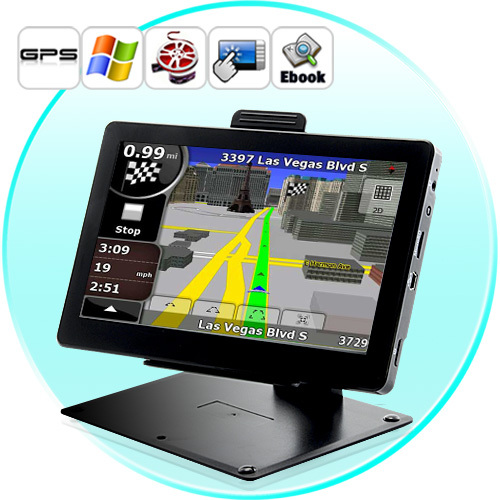 Cheapest! 7 inch auto GPS navigation, DDR 128 MB, 2015 Navitel 9.1 maps for Russia, FM, 800 MHz, WinCE 6.0(China (Mainland))