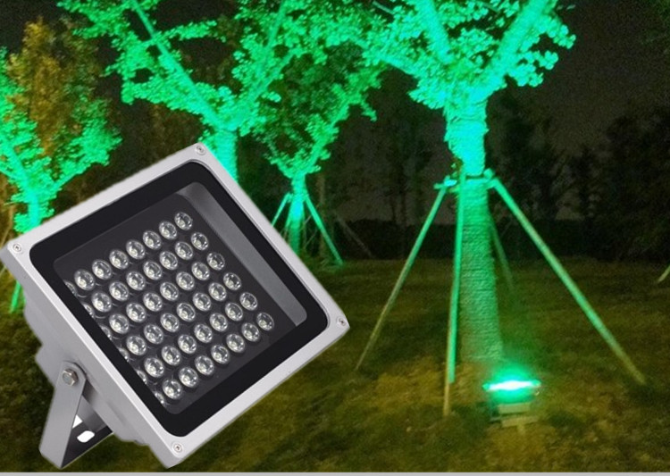 Color D Spotlights shine projection lamp outdoor tree lights lawn 30W waterproof plaza Advertisement colorful cast light(China (Mainland))