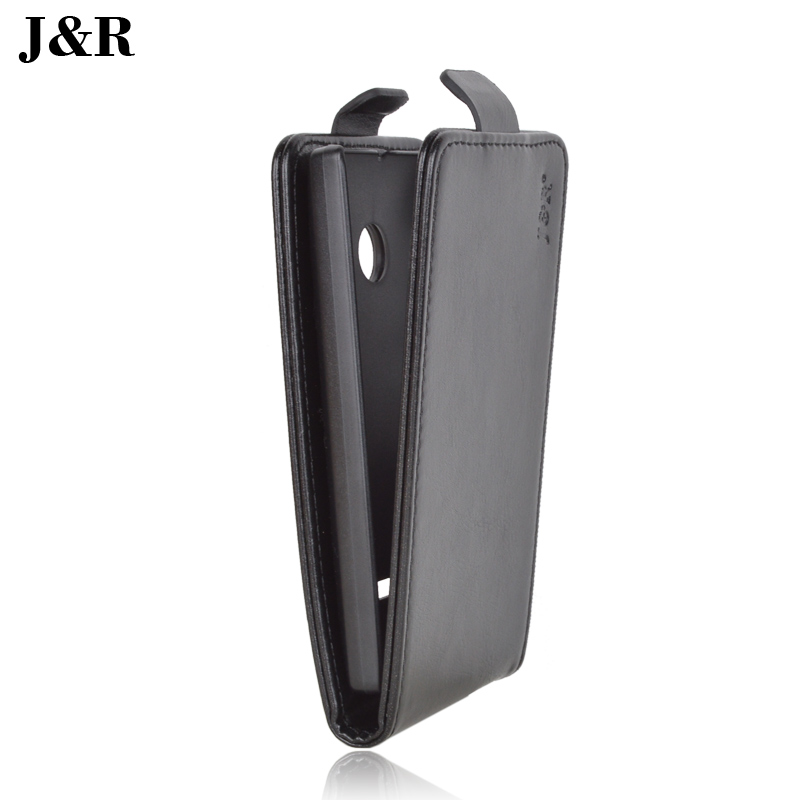Original J&R Brand PU Leather Case for Microsoft Lumia 532 Magnetic Flip Cover For Nokia 532 Phone Bag 9 Colors in Stock(China (Mainland))