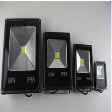 1 stücke 10 Watt Led Flutlicht 20 Watt 30 Watt IP65 Wasserdichte COB Scheinwerfer Outdoor Flutlicht Lampe Led Reflektor ultradünne 50 Watt 110 V 220 V(China (Mainland))