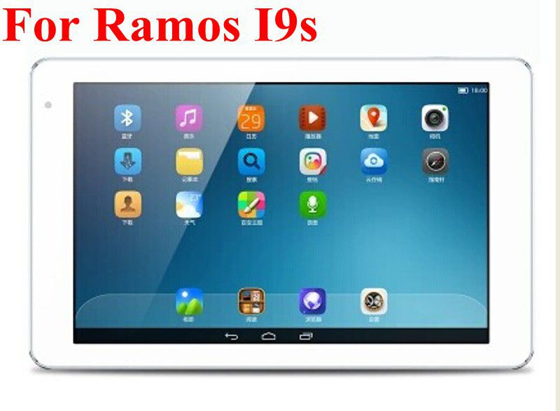 """5PCS/Lot 3 Layers Clear LCD Screen Protector Film Guard For RAMOS I9s Wifi 32GB 8.9"""" Tablet PC(China (Mainland))"""