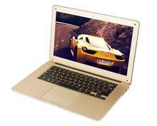 14 inch Laptop Computer Notebook Windows 7/8 Dual Core 4G 500G HDD Wifi Webcam Portable Netbook PC Gold with Free Shipping(China (Mainland))