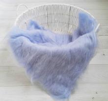 100% Wool Newborn Blanket Photography ,Soft Baby Blanket Posing Backdrop 60*60cm ,#P0241(China (Mainland))