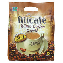 Malaysia imports Alicafe 3 in 1 instant white coffee espresso 600 g free shipping promotion wholesale