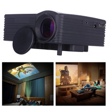 Feitong 2016 New 1080P HD Home Cinema Theater Multimedia LED Projector AV VGA USB HDMI(China (Mainland))