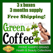 3 months supply Green coffee bean extract weight loss strong version green coffee slimming diet for women (mld030)