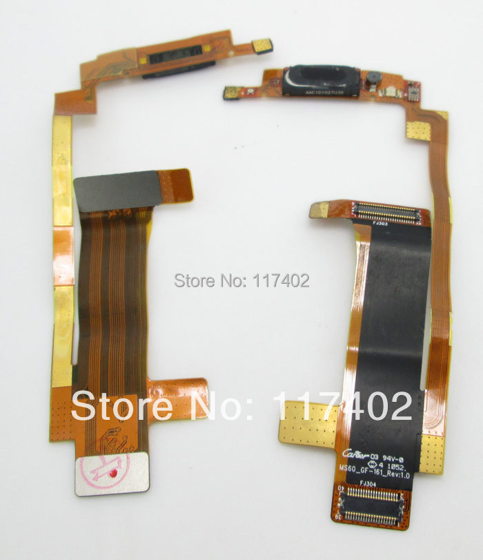 New earpiece speak flex cable for Motorola XT300 Spice free shipping and Tracking(China (Mainland))