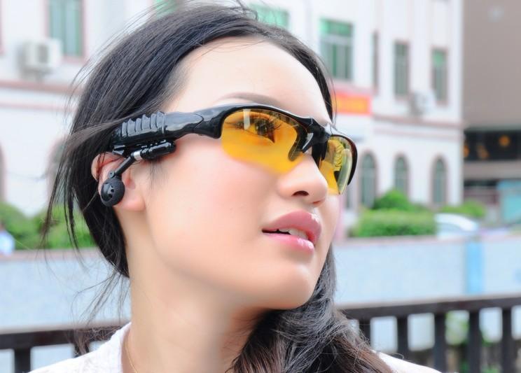 2GB Bluetooth Sport Mp3 Player Sun Glasses Mp3 Player Glasses Summer Sunglasses Bluetooth Mp3 Player Pick Up Phone(China (Mainland))