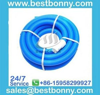 """Swimming Pool Products-Blow Molded Vacuum Hose with Standard Cuff(9m x 1-1/2"""")"""