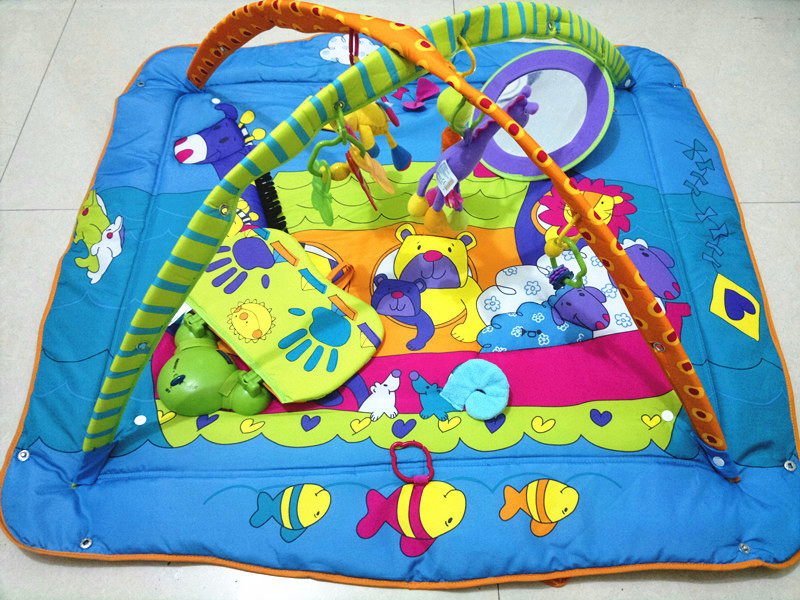 educational music baby play gym mat Infant floor rug(China (Mainland))