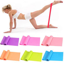 Yoga Pilates Resistance Elastic Loop bands Workout Exercise Ankle 8 Colors