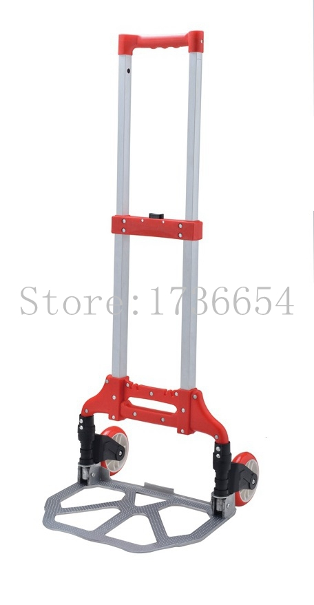 GF-H002B Aluminum alloy climb stair shopping cart luggage cart trolley car trailer load king truck With Width Aluminum Platform(China (Mainland))