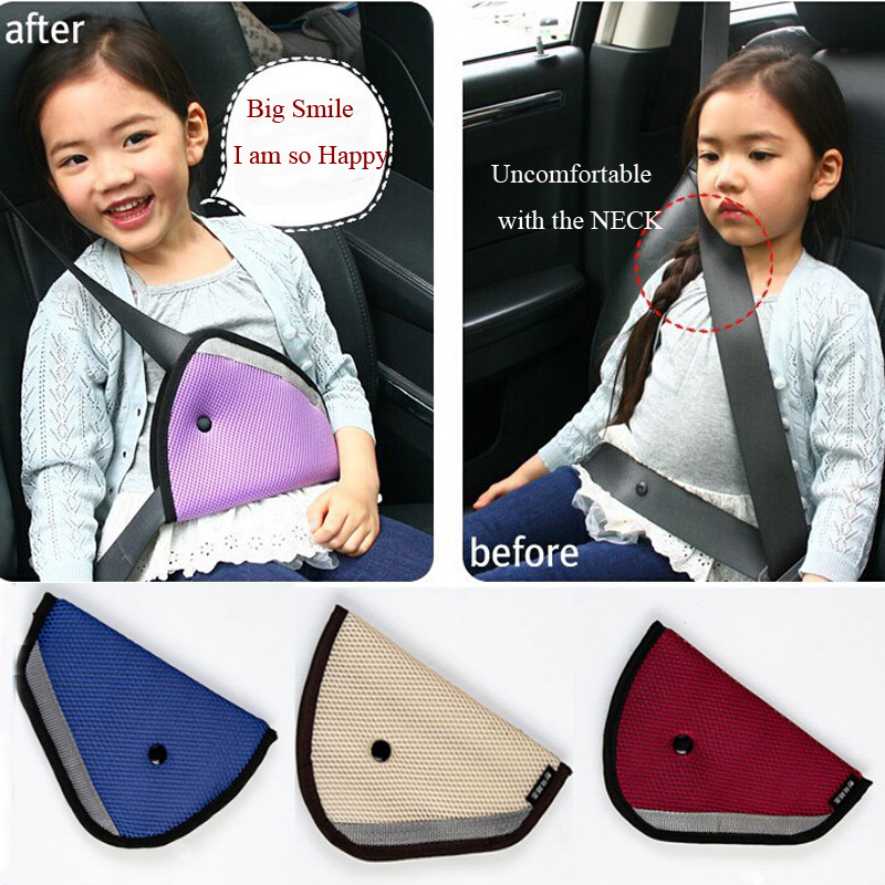 New arrival baby toddlers car safety seat belt adjuster padding/ child restraint device / seat belt clip car accessories(China (Mainland))