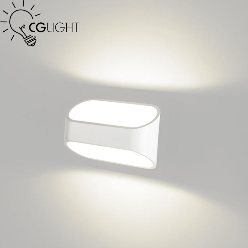 1 AC85~265V Wall Sconce 3W LED Aluminum Lamps Modern Brief Bedroom Living Room Bathroom Light white Lamp - MM Lighting Factory store
