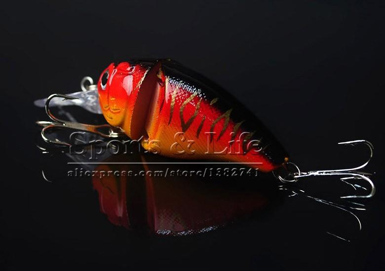 14G 8.5CM <font><b>Fishing</b></font> Lures Minnow Crank Bait Crankbait Bass Tackle Treble Hook bait wobblers <font><b>fishing</b></font> japan free shipping