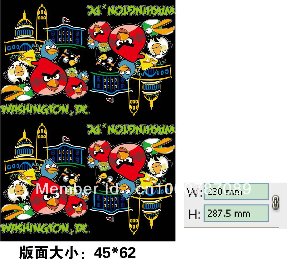 Tshirt offset heat transfer sticker(China (Mainland))